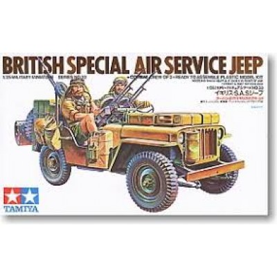 British Special Air Service Jeep ( 1/35 code 35033 )