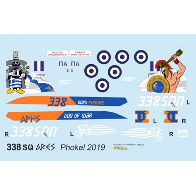 338 Sq ARES Phokel 2019 ( 1/48 Code 48904 )
