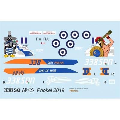 338 Sq ARES Phokel 2019 ( 1/72 Code 72904 )