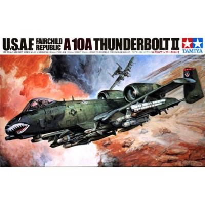 U.S.A.F. Fairchild Republic A-10A Thunderbolt II  1/48 ( tamiya code 61028 )