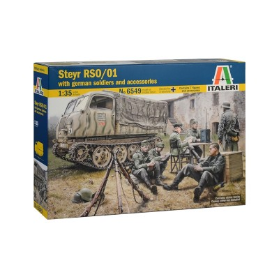 Steyr RSO/01 with German Soldiers (contains 7 figures and accessories) ( 1/35 code 6549 )