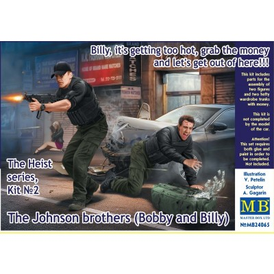 The Heist Series Vol.2: The Johnson Brothers Bobby and Billy ( 1/24 code 24065 )