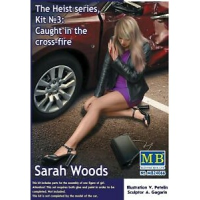 Caught in the cross-fire. Sarah Woods. The Heist №3 (1/24 code 24066 )