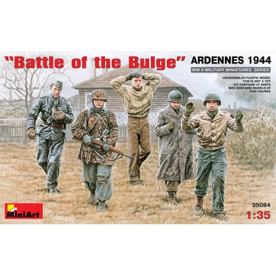 Battle of the Bulge Ardennes 1944 ( 1/35 code 35084 )