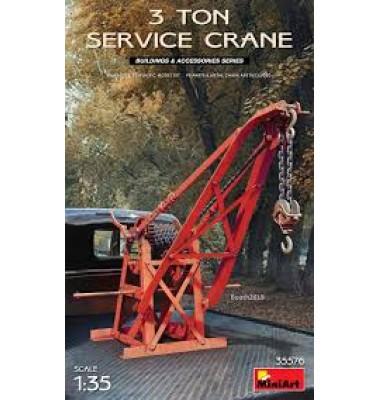 3 Ton Service Crane ( 1/35 code 35576 )
