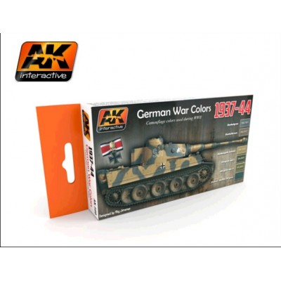 AK-Interactive 560 1937-1944 GERMAN COLOR SET