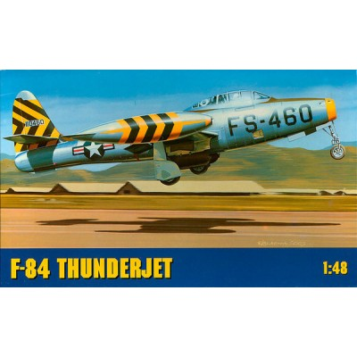 Chematic  F-84 G THUNDERJET ( 1/48 code A012 )