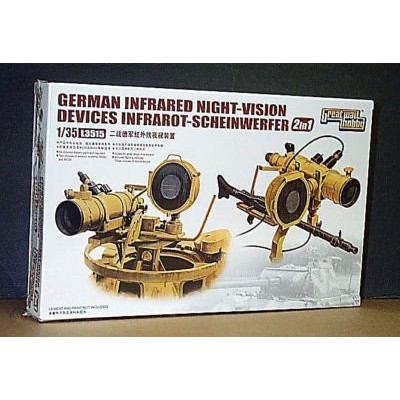 German Infrared Night-Vision Devices ( 1/35 code 3515 )