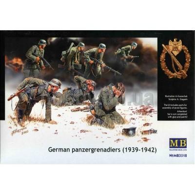 German Panzergrenadiers, 1939-1942, 7 fig. ( 1/35 code 3518 )