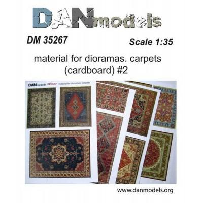 Carpets (cardboard) #2 (4 καρτέλες  1/35 code 35267 )