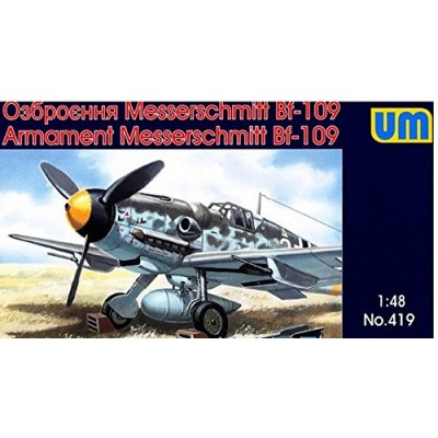 Armament Messerschmitt Bf 109 ( 1/48 code 419 )