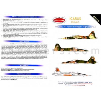 HAF F-5s part 2  (1/48 code 48025 )