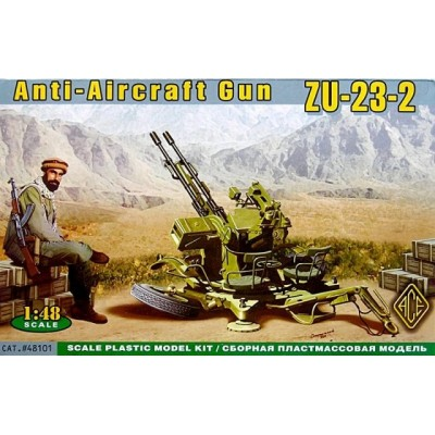 Anti-Aircraft Gun ZU-23-2 ( 1/48 code 48101 )