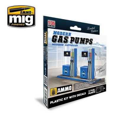 MODERN GAS PUMPS Limited Edition (1:35)