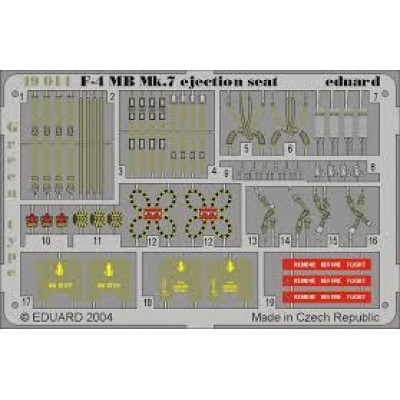 F-4 ejection seat green ( 1/48 code 49014 )