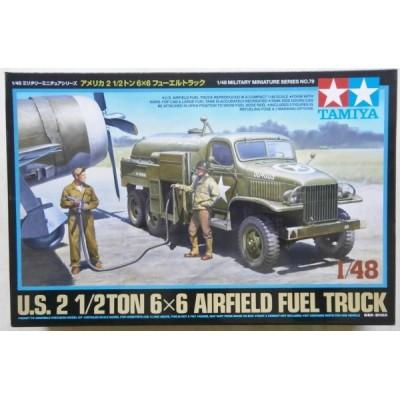 U.S. 2 1/2TON 6x6 Airfield Fuel Truck ( 1/48 code 32579 )