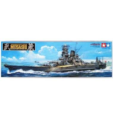 Japanese battleship Musashi ( 1/350 code 78031 )