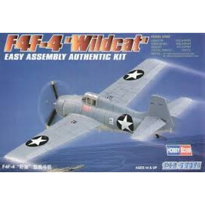 """F4F-4 """"Wildcat"""" ( 1/72 code 80220 )"""