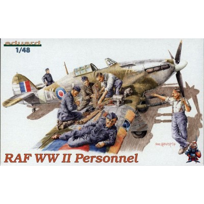 RAF WWII Personnel ( 1/48 code 8508 )