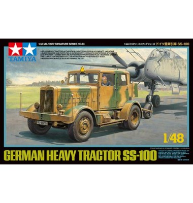 Heavy Tractor Ss-100 ( 1/48 code 32593 )