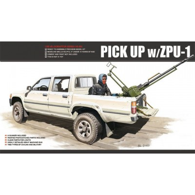 Pick up w ZPU-1 Meng ( 1/35 CODE VS001 )