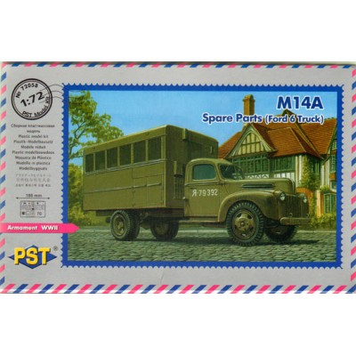 M14A Spare Parts Ford 6 Truck ( 1/72 code 72058 )