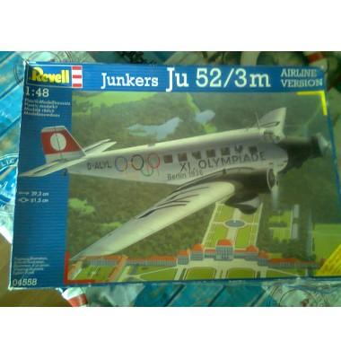 Junkers Ju 52/3m Airline Version ( 1/48 code 04558 )