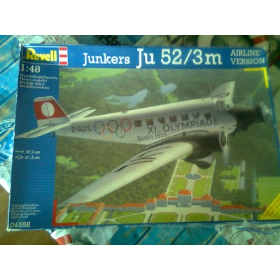 Junkers Ju 52/3m Airline Version ( 1/48 code 04558 )