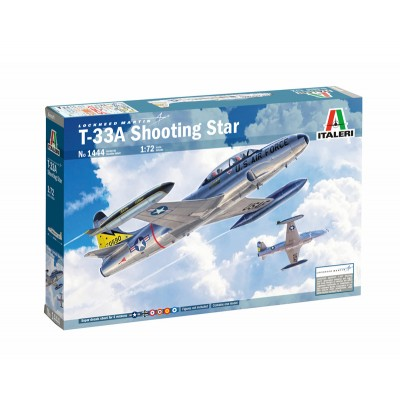 T-33A 'Shooting Star' ( 1/72 code 1444 )