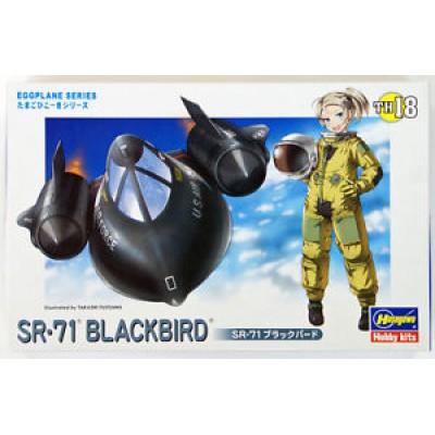 EGGPLANE SR-71 BLACKBIRD ( code th-18 )