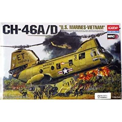 "CH-46A/D ""U.S. Marines - Vietnam"" ( 1/48 code 12210 )"