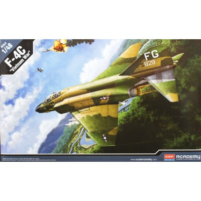 "F-4C "" Vietnam War "" ( 1/48 )"