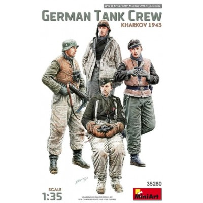 German Tank Crew Kharkov 1943 ( 1/35 code 35280 )