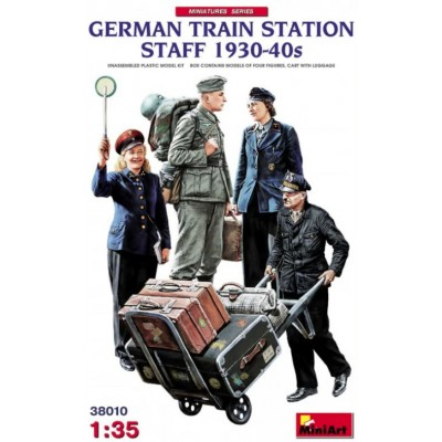 German Train Station Staff 1930-40s ( 1/35 code 38010 )
