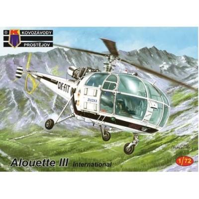 Aerospatiale Alouette III 'International' ( 1/72 code 0151 )