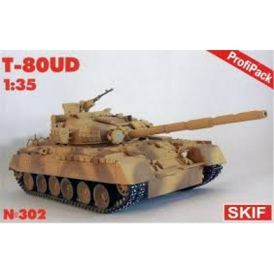 T80UD Russian Main Battle Tank (EDUARD P.E ) ( 1/35 code 302 )