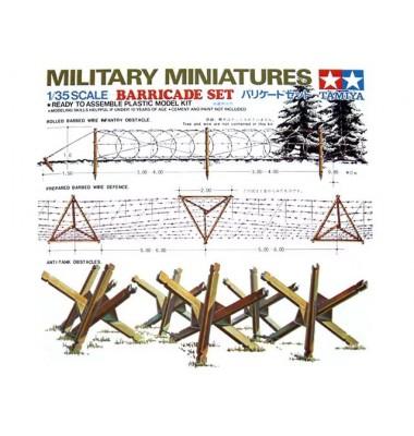 Barricade Set ( 1/35 code 35027 )