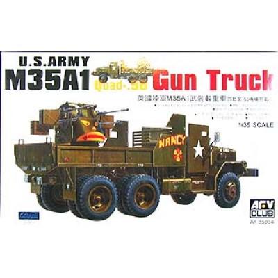 M35A1 Quad-.50 GUN TRUCK ( 1/35 code 35034 )