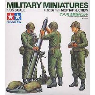 US 107mm Mortar & Crew ( 1/35 code 35119 )