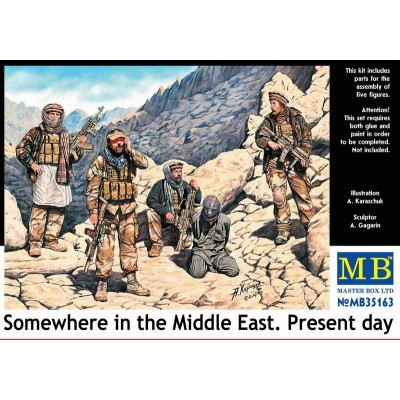 Somewhere in the Middle East. Present day ( 1/35 code 35163 )