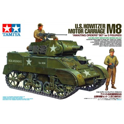 US Howitzer Motor Carriage M8 ( 1/35 code 35312 )