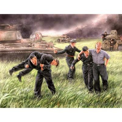 German Tank Crew ( 1/35 code 3536 )