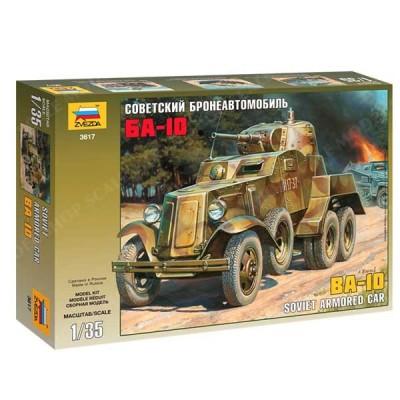 BA-10 Soviet Armored Car (1/35 code 3617)