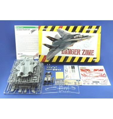 DANGER ZONE F-14A AND GRADE-UP PARTS SET LIMITED EDITION