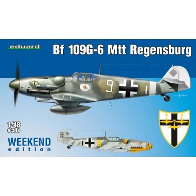 Bf 109G-6 MTT Regensburg ( 1/48 code 84143 )