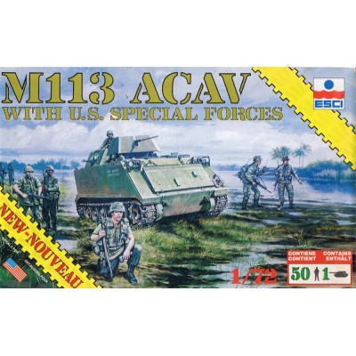 M113 ACAV with U.S. Special Forces ( 1/72 code 8601 )