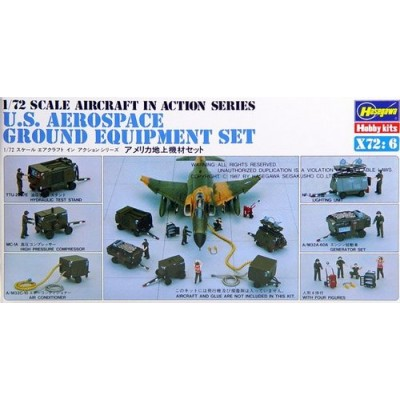 U.S. Aerospace Ground Equipment Set ( 1/72 code x72-6 )