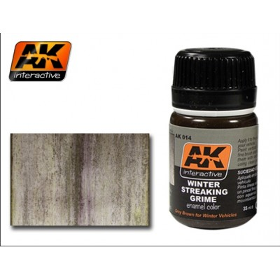 AK014 STREAKING GRIME FOR WINTER VEHICLES