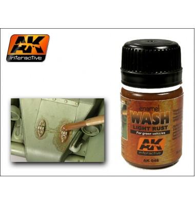 AK046 LIGHT RUST WASH