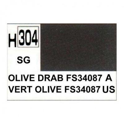 h304 Semi-Gloss Olive Drab FS34087